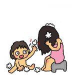 髪洗うとき下向いてない?キューティクルが傷んだり、たるみやしわになるかも!