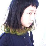 オシャレへの道に第一歩を踏み出す《黒髪×ポイントカラー》♡
