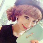 この時季はヘアアレンジ+お帽子でオシャレ可愛く♡