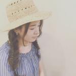 帽子が似合う髪型でさらに魅力的な女性になりたい♡